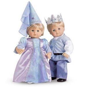 American Girl Bitty Twins Royalty Outfits NIB